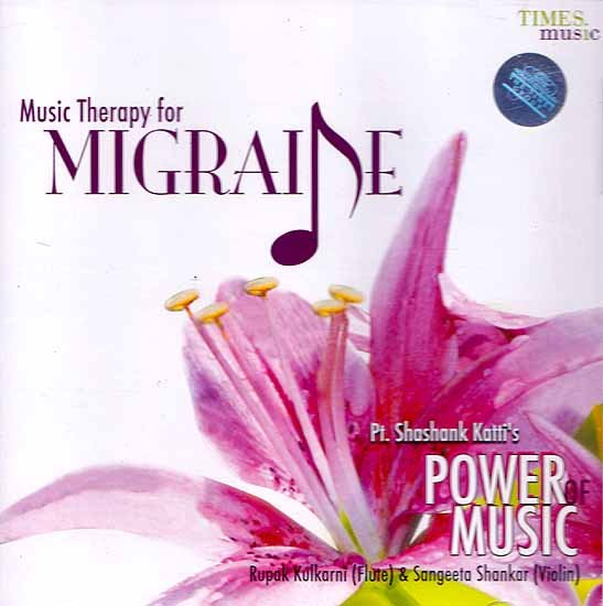 Music Therapy for Migraine - Pt. Shashank Katti's (Audio CD)