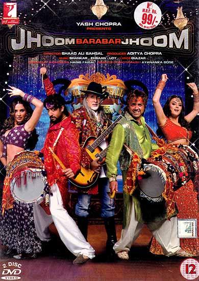 Dance Come'n Dance:Jhoom Barabar Jhoom (Yash Chopra Presents) (Set of Two DVD In Hindi with English Subtitles)