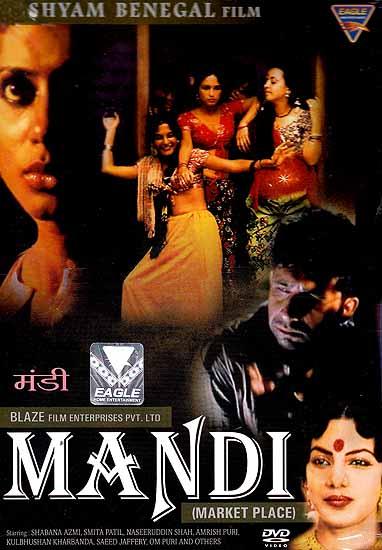 Mandi (Market Place of Women) (Hindi Film DVD with English Subtitles)