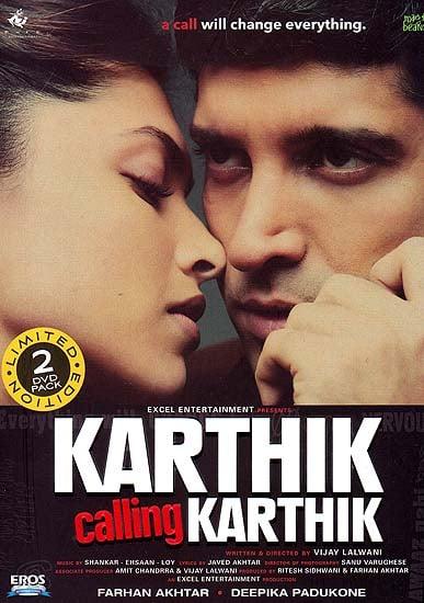 Karthik Calling Karthik (Set of Two DVDs with English Subtitles) - Hindi Film