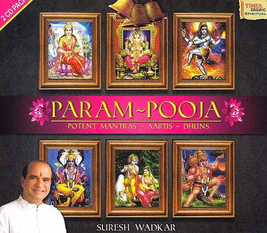 Param-Pooja (Potent Mantras - Aartis - Dhuns) (Audio CD) (2 CD Pack)