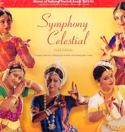 Symphony Celestial Gold Edition (A Unique Collection, Featuring Ten of India's Fascinating Dance Forms) (Set of Twelve DVDs)