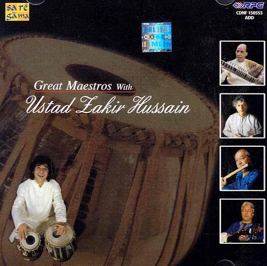 Great Maestros With Ustad Lakir Hussain (Audio CD)