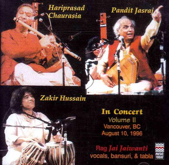 In Concert: Rag Jai Jaiwanti (Audio CD)
