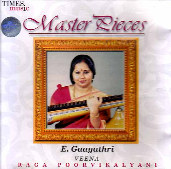 Master Pieces (Veena Raga Poorvikalayani) (Audio CD)