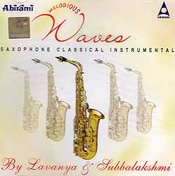 Melodious Waves (Saxophone Classical Instrumental) (Audio CD)