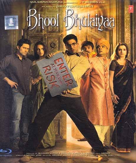 Bhool Bhulaiyaa (Blu-Ray Disc)