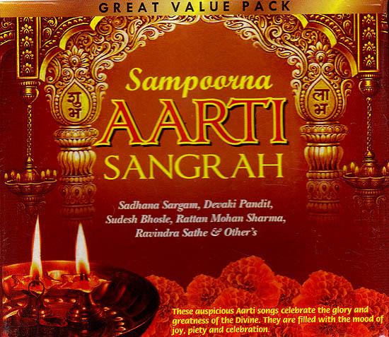 Sampoorna Aarti Sangrah (Set of 3 Audio CDs)
