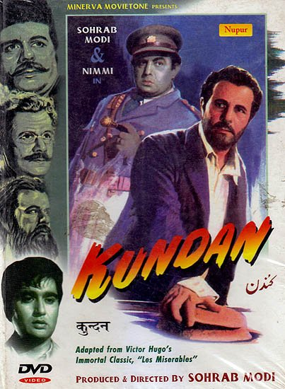 """Kundan (Adapted From Victor Hugo's Imoortal Classic, """"Les Miserables"""") (DVD)"""