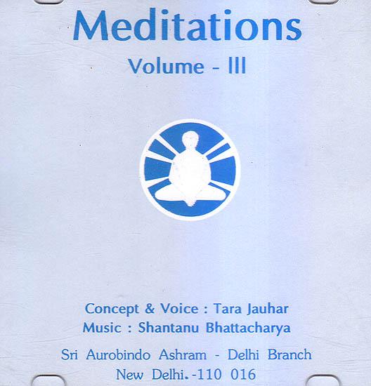 Meditations Vol. III (Audio CD)