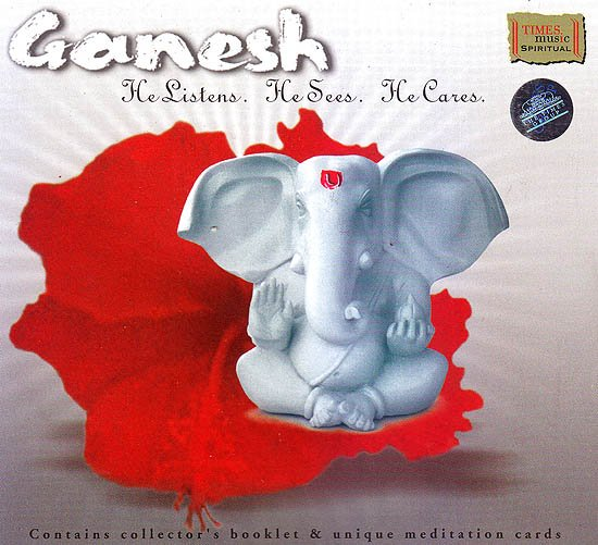 Ganesh: He Listens He Sees He Cares (Contains Collector's Booklet & Unique Meditation Cards) (Audio CD)