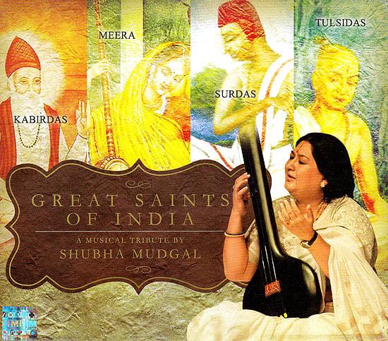 Great Saints of India: Kabirdas, Meera, Surdas & Tulsidas  (Audio CD)