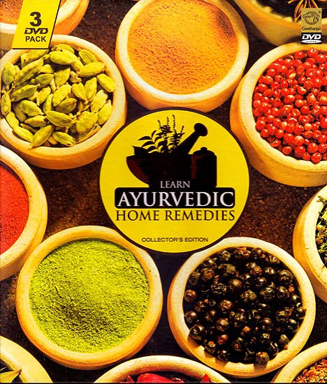 Learn Ayurvedic Home Remedies: Collector's Edition  (Set of 3 DVDs)
