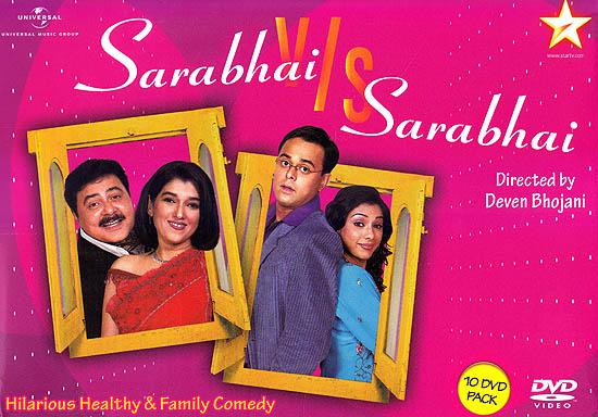 Sarabhai v/s Sarabhai: Hilarious Healthy & Family Comedy (Set of 10 DVDs)