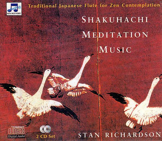 Shakuhachi Meditation Music: Traditional Japanese Flute For Zen Contemplation  (Set of 2 Audio CDs)
