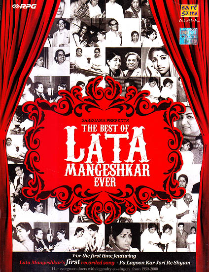The Best of Lata Mangeshkar Ever (Set of 5 Audio CDs)
