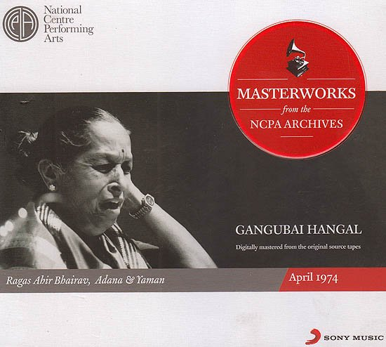 Gangubai Hangal: Masterworks from the NCPA Archives (Set of 2 Audio CDs)