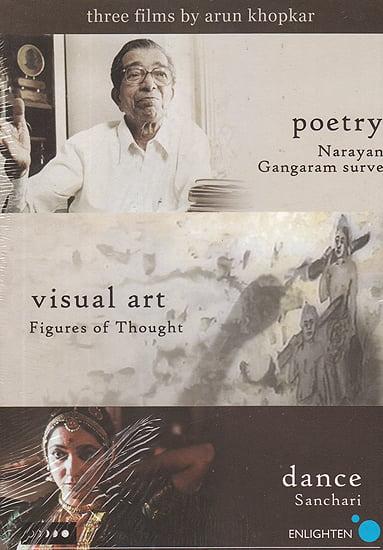 Three Films: Poetry Narayan Gangaram Surve), Visual Art (Figures of Thought), and Dance (Sanchari)  (DVD)