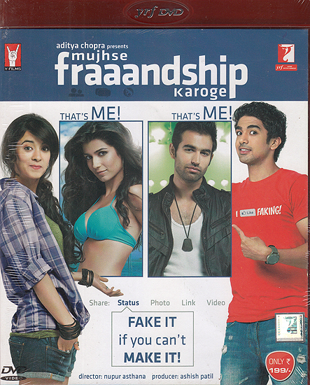 Will You Make Friends With Me? Mujhse Fraaandship Karoge (DVD)