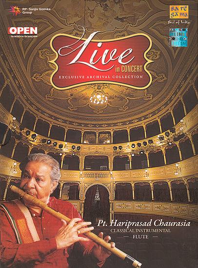 Live In Concert: Pt. Hariprasad Chaurasia (Classical Instrumental): Flute (Set of 2 Audio CDs)