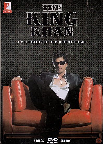 The King Khan: Sharukh Khan (Collection of His 8 Best Films) (Set of 8 DVDs)