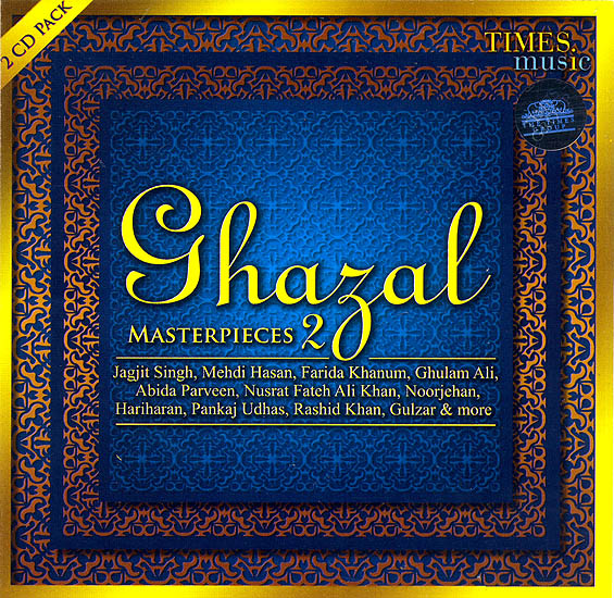 Ghazal Master Pieces (Set of 2 Audio CDs)