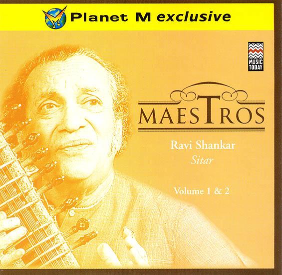 Maestros: Ravi Shankar (Sitar) (Set of  2 Audio CDs)
