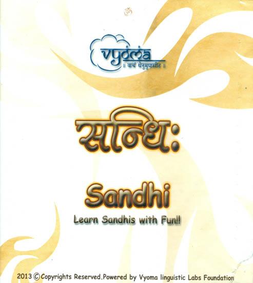 Sandhi (Learn Sandhis with Fun!!) (Audio CD)