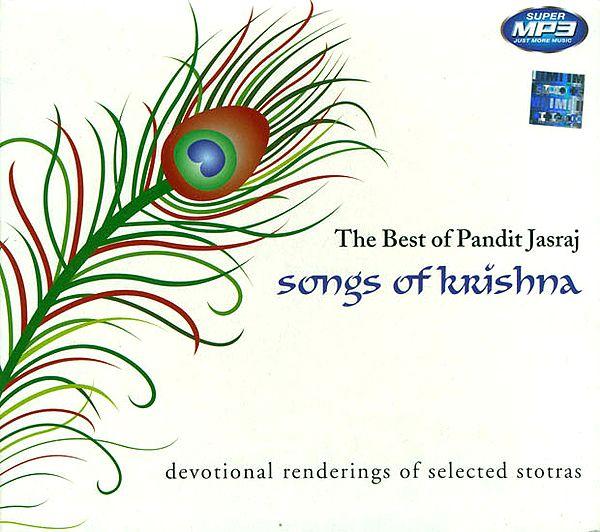 The Best of Pandit Jasraj: Songs of Krishna (Devotional Renderings of Selected Stotras) (MP3 CD)