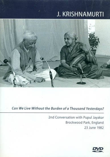 J. Krishnamurti: Can we Live Without the Burden of a Thousand Yesterdays? (Region Code: All Regions –Black and White) (DVD)