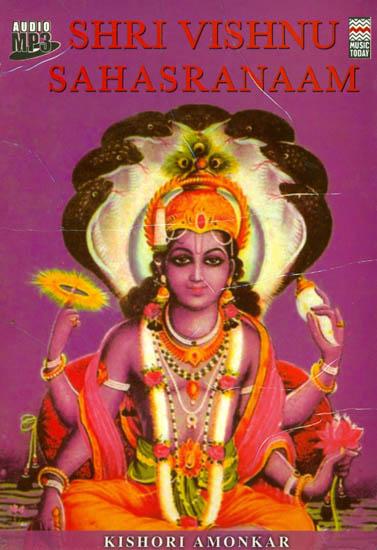 Shri Vishnu Sahasranaam (6 Hours of Music) (Audio MP3 CD)