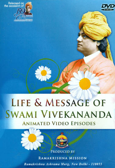 Life and Message of Swami Vivekananda (Animated Video Episodes) (DVD)