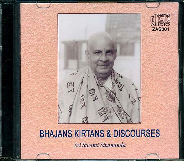 Bhajans, Kirtans & Discourses (Audio CD)