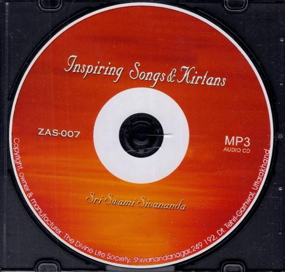 Inspiring Songs & Kirtans (Set of 2 Audio CDs)
