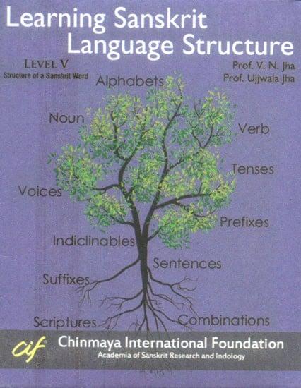 Learning Sanskrit Language Structure  - Structure of a Sanskrit Word Level V (Set of 21 DVDs)