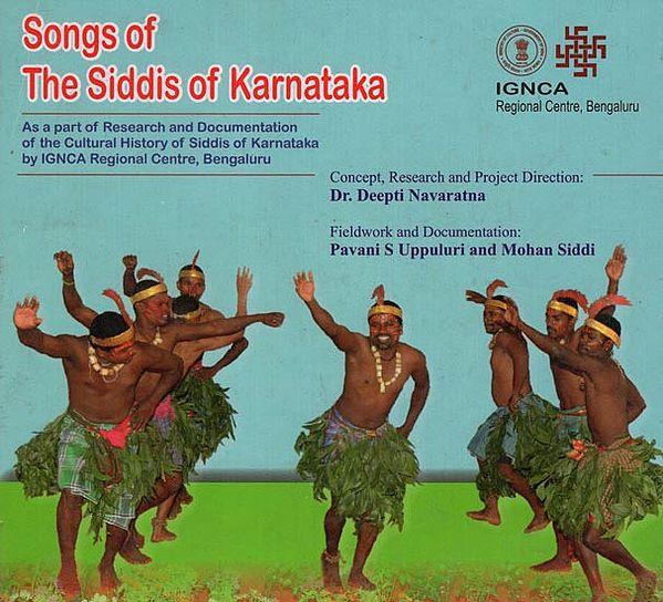Songs of the Siddis of Karnataka (Audio CD)