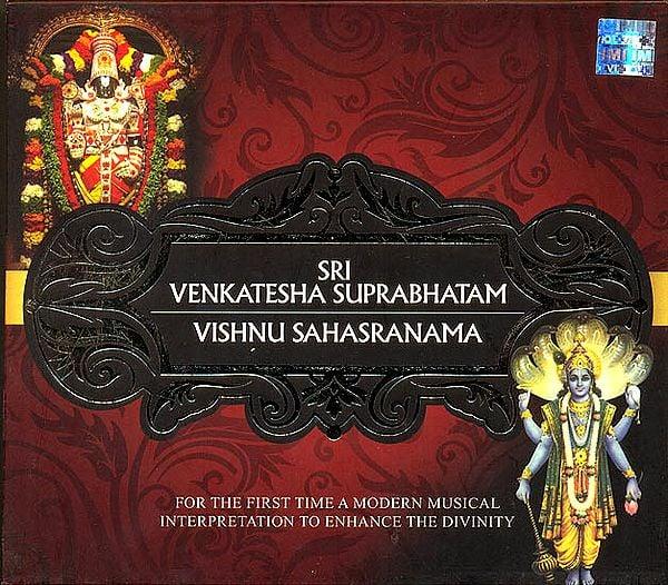 Sri Venkatesha Suprabhatam and Vishnu Sahasranama (For The First Time A Modern Musical Interpretation To Enhance The Divinity) (Audio CD)
