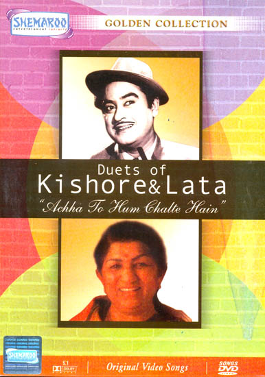 """Duets of Kishore and Lata """"Achha To Hum Chalte Hain"""" (Golden Collection): Original Videos of Hindi Film Songs (DVD)"""