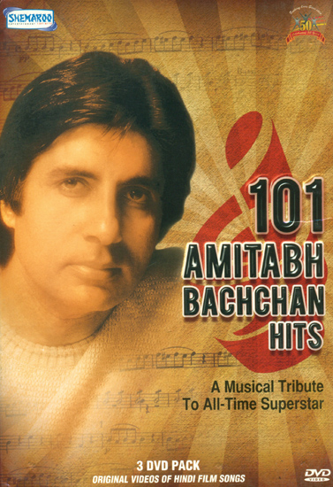 101 Amitabh Bachchan Hist: A Musical Tribute to All Time Superstar (Set of 3 DVDs)