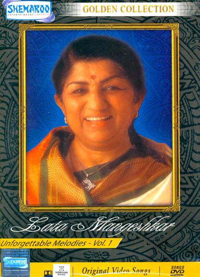 "Unforgettable Melodies ""Lata Mangeshkar"" : Golden Collection(Vol 1): Original Videos of Hindi Film Songs (DVD)"