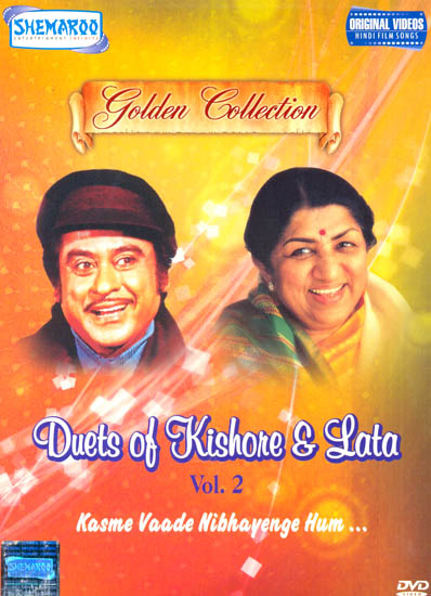 "Duets of Kishore and Lata ""Kasme Vaade Nibhayenge Hum.."" : Golden Collection) (Vol. 2): Original Videos of Hindi Film Songs (DVD)"