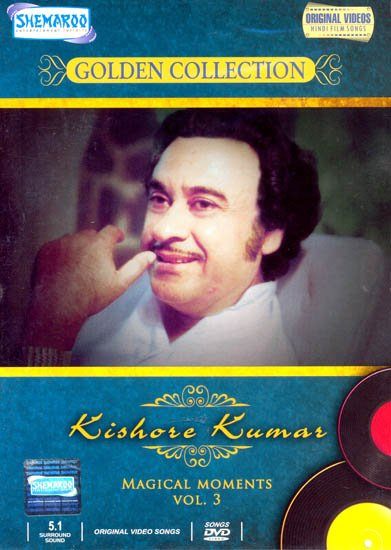 "Kishore Kumar ""Magical Moments"" : Golden Collection  (Vol. 3): Original Videos of Hindi Film Songs (DVD)"