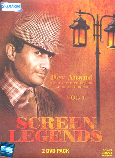 """Screen Legends """"Dev Anand"""" :The Evergreen Legend of Indian Cinema (Vol 1): Original Videos of Hindi Film Songs (Set of 2 DVDs)"""