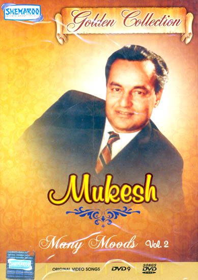 "Mukesh ""Many Moods"": Golden Collection(Vol. 2): Original Videos of Hindi Film Songs (DVD)"