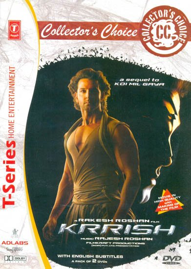 Krrish: A Sequel To Koi Mil Gaya (Collector's Choice) (Set of 2 DVDs)