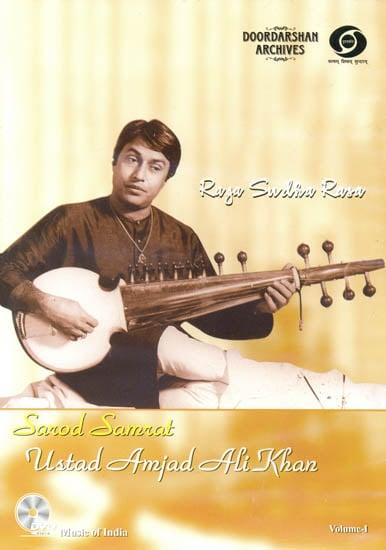 Raga Sudha Rasa: Sarod Samrat Ustad Amjad Ali Khan (Vol. I) (With Booklet Inside) - From Doordarshan Archives (DVD)