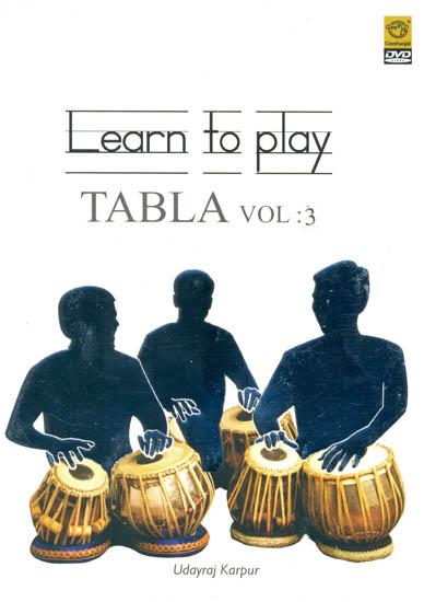 Learn To Play Tabla (Vol. 3) (DVD)