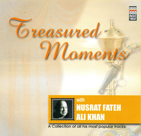 "Treasured Moments With Nusrat Fateh Ali Khan ""A Collection of All His Most Popular Tracks"" (Audio CD)"