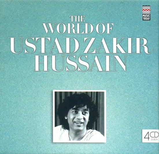The World of Ustad Zakir Hussain (Set of 4 Audio CDs)
