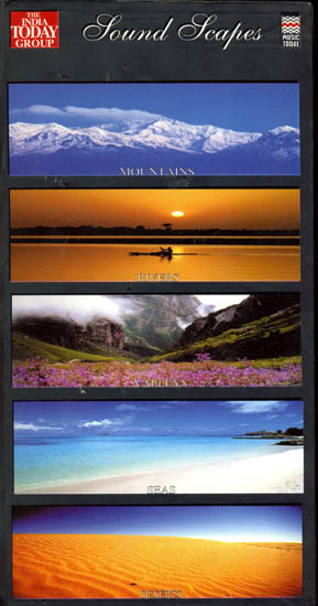 Sound Scapes: Mountains, Rivers, Valleys, Seas and Deserts (A Set of 5 Audio CDs)